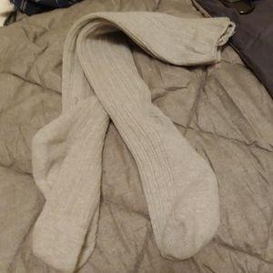 Aerie knee high sweater socks